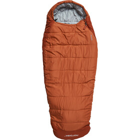 Nordisk Knuth Sleeping Bag Junior 160-190cm Burnt Red
